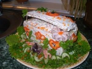 Салат «Сундучок с сокровищами»