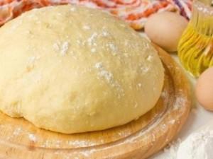 Кефирное тесто