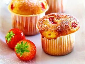 Рецепт маффинов с ягодами