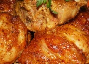 Курица, маринованная по-американски