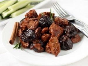 Десерт из баклажанов с черносливом