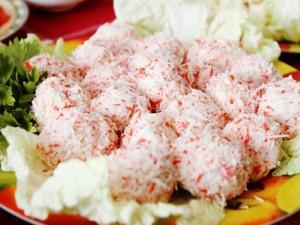 Крабово-сырные шарики «Быстрые»