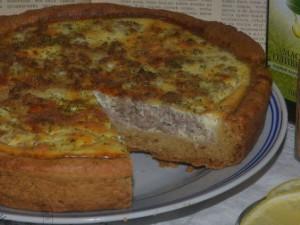 Как приготовить французский киш с мясной начинкой?