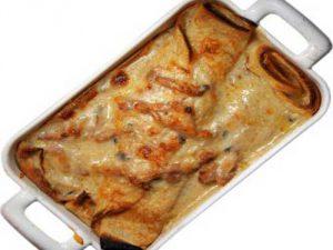 Блинчики с сыром по-швейцарски