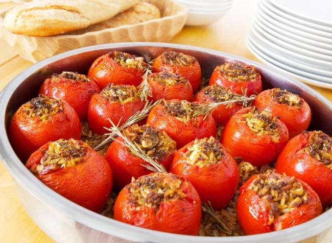 Фаршированные помидоры с фаршем в духовке пошагово