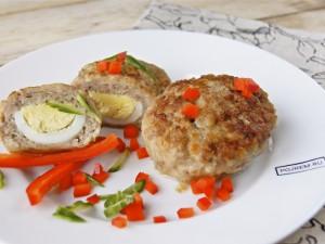 Зразы мясные с яйцом