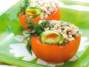 Как приготовить мини-салаты?