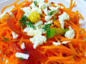 Питательный салатик «фантазия»