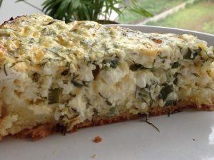Сырный пирог: целых 14 г белка
