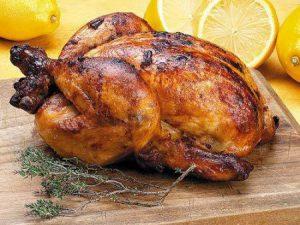 Маринованная чесночная курица