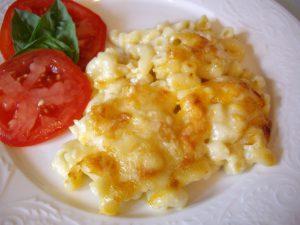 Макароны с сыром и яйцом рецепт
