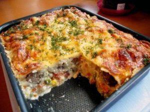 Запеканка из овощей с сыром: супер-витаминный ужин!