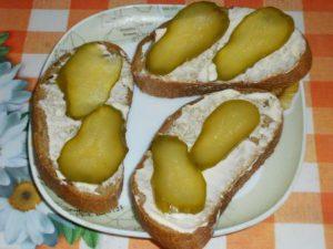 Закрытый бутерброд «Вуаля»