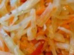 Салат с мидиями «Свежесть»
