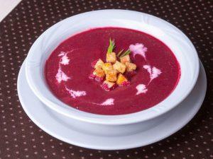 Свекольный суп! Можно на ужин!