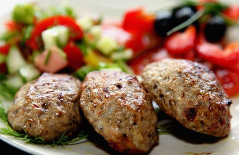 Диетические блюда из мяса в духовке