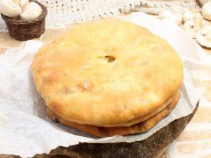 Пирог с грибами и сыром, который можно всем!