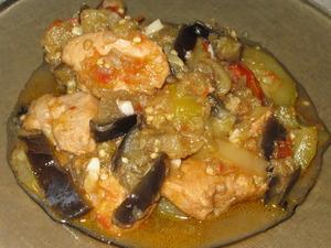 Сотэ из курицы с овощами