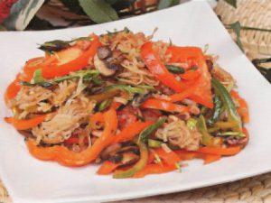 Восточный салат