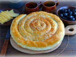 Пирог с печенью «Мега»