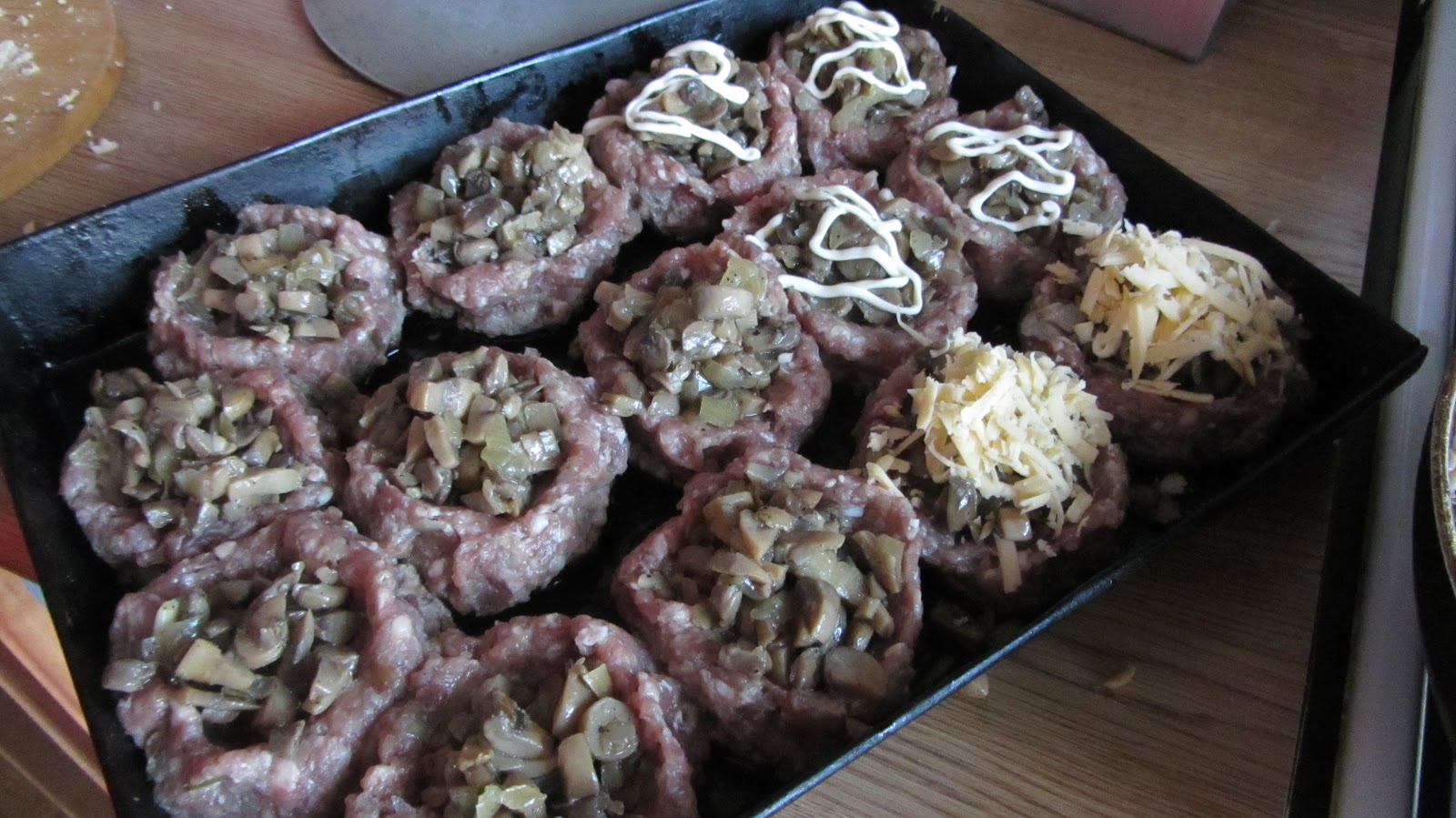 Гнезда из макарон с фаршем - рецепт с фотографиями