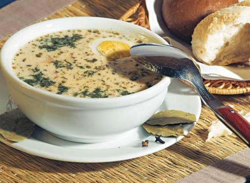 Яичный суп для ребенка