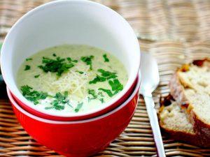 Крем-суп с цукини и петрушкой