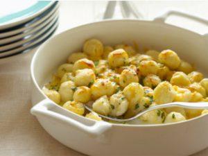 Картофельные ньокки в сливочном соусе