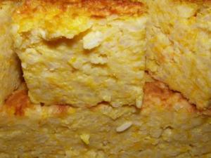 Запеканка из тыквы с рисом