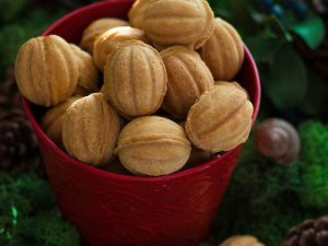 «Орешки» со сгущенкой
