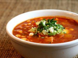Суп с килькой в томатном соусе, рецепт
