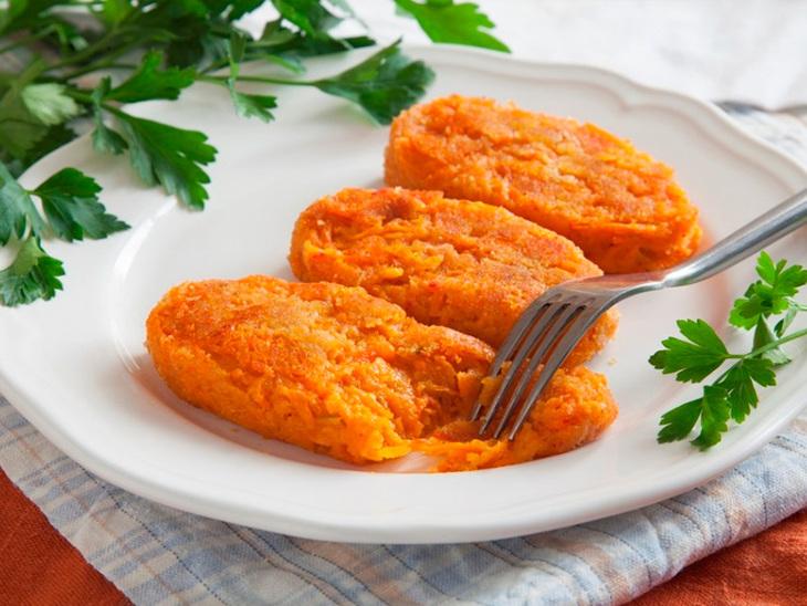 Морковные котлеты пошаговый рецепт с фото