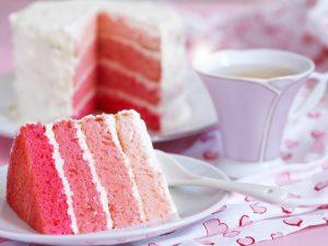 Самый красивый торт на День святого Валентина своими руками