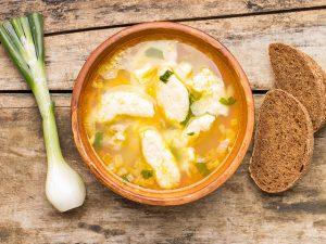 Суп с клецками: готовим украинское блюдо