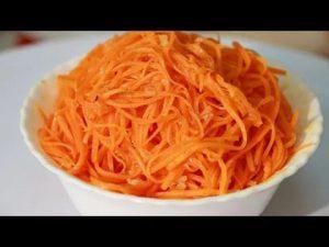 Морковь по-корейски в домашних условиях