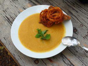Великий пост: нежный суп-пюре из грибов