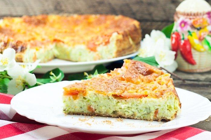 Оказывается, из кабачков можно приготовить и сладкий пирог.