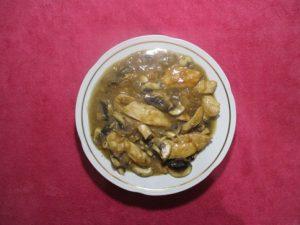 Сочная куриная грудка с грибами