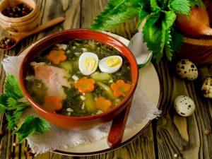 Суп из крапивы: рецепт весеннего угощения