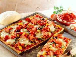 Как быстро приготовить пиццу