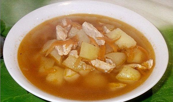 Картофельно-куриная похлебка