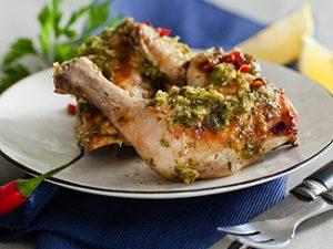 Цыпленок «Ала Дьяболо» в мультиварке