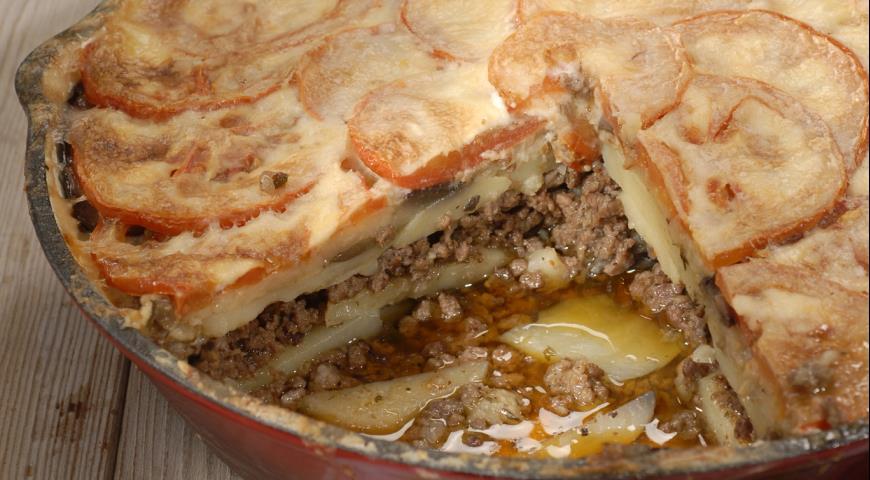 Мусака с баклажанами по-гречески рецепт с пошагово в