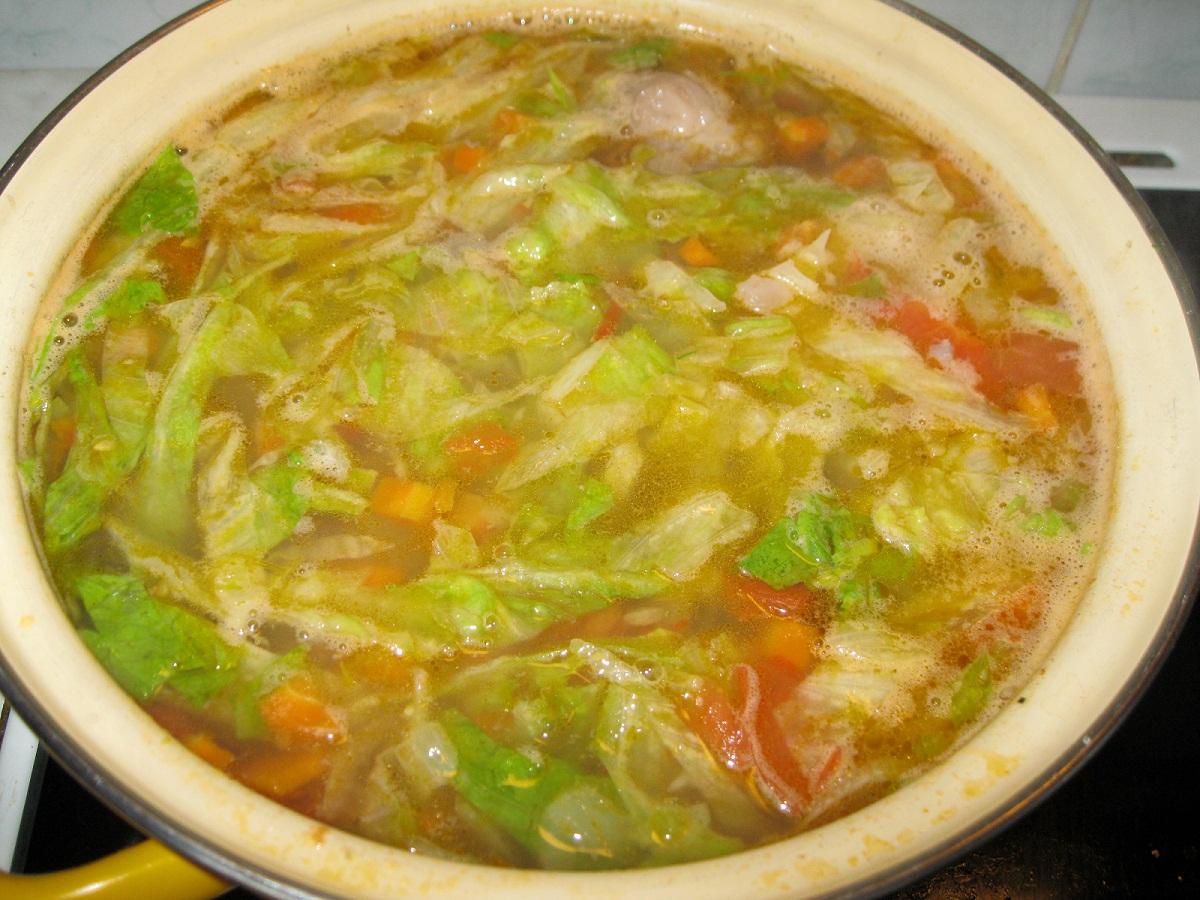 Суп из свежей капусты рецепт