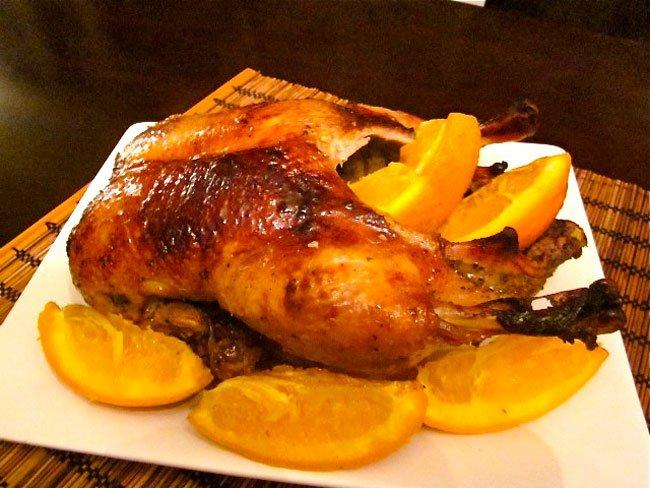 Утка в духовке с апельсинами пошаговый рецепт с