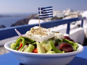 Морская кухня Греции