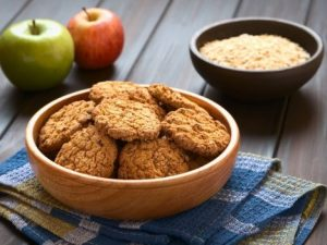 Постное овсяное печенье – полезный и вкусный десерт