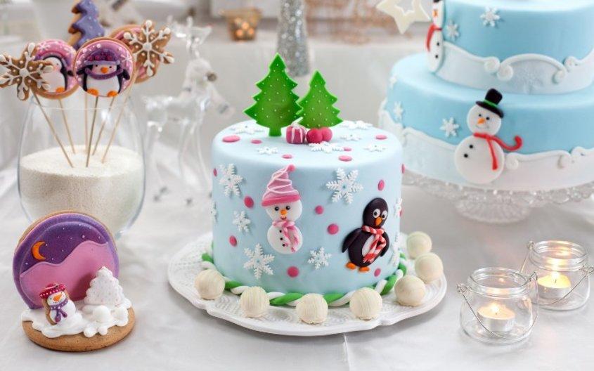 Торт. Отмечаем первый год жизни