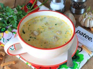 Питательный и диетический вариант супа