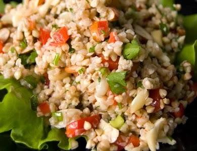 Салат с капустой и плавленным сырком